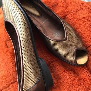 Made in Italy - Amalfi Gold shoes